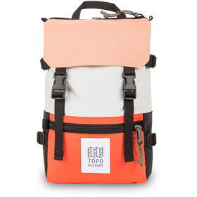 Topo Designs Rover Mini Pack, wit/rood